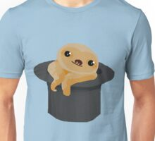 Baby Sloth in a Top Hat Unisex T-Shirt