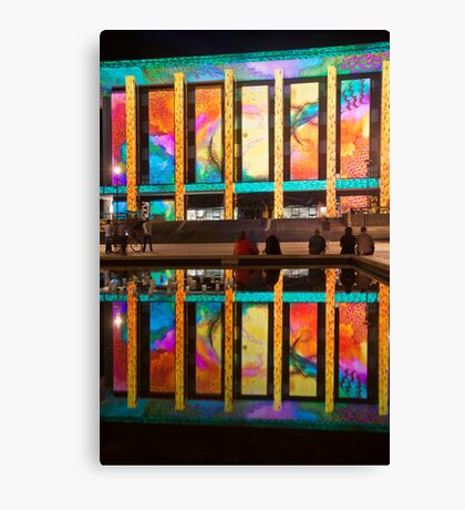 Literary Reflection Canvas Print