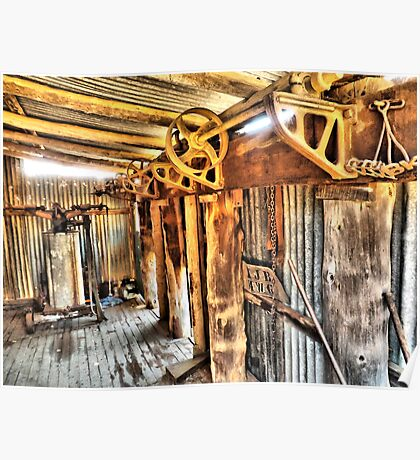 old shearing gears Poster