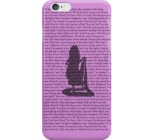 I See the Light Alternate Purple 3 iPhone Case/Skin
