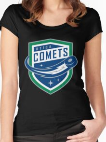 Utica Comets Women's Fitted Scoop T-Shirt