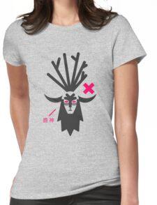 Deer God (Forest Spirit Advisory) Womens Fitted T-Shirt