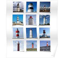 Lighthouses Part I. Poster