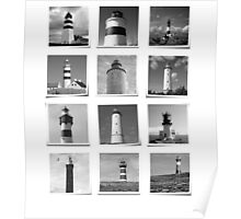 Lighthouses Part II. Poster