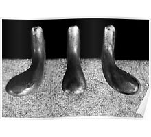 Piano Pedals Poster