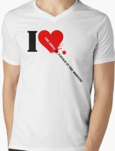 Apocalypse Now - I Love The Smell Of Napalm In The Morning Mens V-Neck T-Shirt