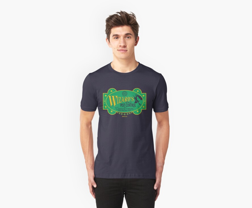 Wizards Pest Control by Crocktees