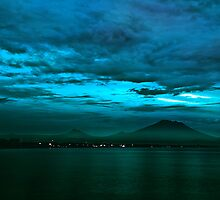 Mount Agung by Purnawan Taslim Hadi