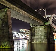 Merivale Bridge • Brisbane by William Bullimore