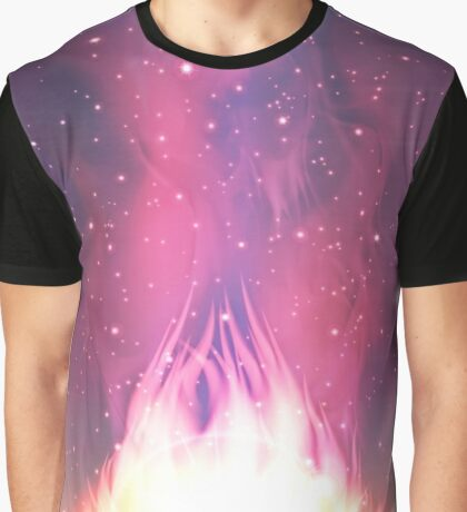 Space background Graphic T-Shirt