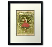 The Princess and the Frog (responsibilty is over-rated) Framed Print