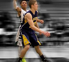 Dylan Hancook | 2012-13 | Clarkston Basketball Poster by alexela