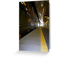 Train 12 03 13 - Five Greeting Card
