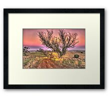 On The Road Again - Cootamundra NSW - The HDR Experience Framed Print