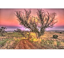 On The Road Again - Cootamundra NSW - The HDR Experience Photographic Print