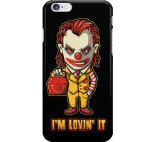 Mc'D Joker - Batman - Mashup iPhone Case/Skin