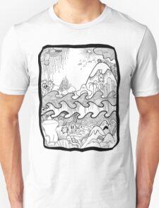 Doodle Collage Shirt Unisex T-Shirt