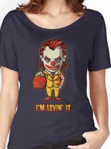 Mc'D Joker - Batman - Mashup Women's Relaxed Fit T-Shirt