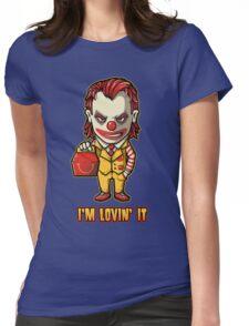 Mc'D Joker - Batman - Mashup Womens Fitted T-Shirt