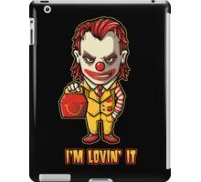 Mc'D Joker - Batman - Mashup iPad Case/Skin