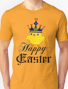 ㋡♥♫Happy Easter Blue Eyed Irish King Chicken Clothing & Stickers♪♥㋡ T-Shirt