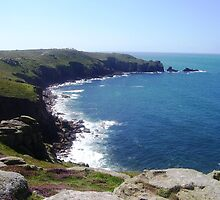 Land's End - Cornwall / England by Jacqueline Turton