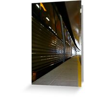 Train 12 03 13 - Four Greeting Card