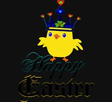 ㋡♥♫Happy Easter Blue Eyed Irish King Chicken Clothing & Stickers♪♥㋡ Zipped Hoodie