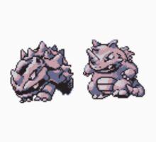 Rhyhorn evolutions Kids Tee