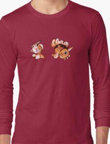 Goldeen evolution  Long Sleeve T-Shirt