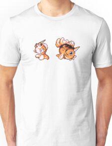 Goldeen evolution  Unisex T-Shirt