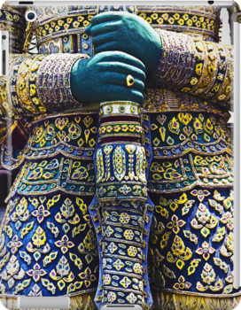 Thai warrior with sword by NafetsNuarb