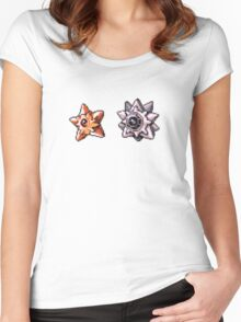 Staryu evolution  Women's Fitted Scoop T-Shirt