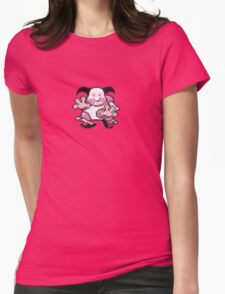 Mr. Mime evolution  Womens Fitted T-Shirt