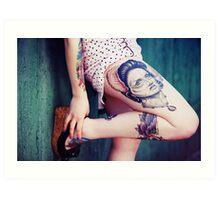 Tattoo I Art Print