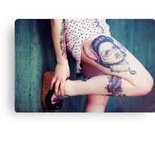 Tattoo I Metal Print