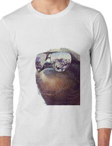 Cashmoney Sloth w/ sunglasses Long Sleeve T-Shirt