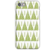 Winter Trees - Green by Andrea Lauren  iPhone Case/Skin