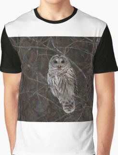 Barred Owl - Kanata, Ont Graphic T-Shirt