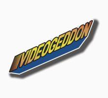 VIDEOGEDDON NEW RETRO LOGO Baby Tee