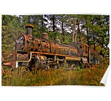 Just Call Me Rusty - Zig Zag Railway, Lithgow NSW Australia - The HDR Experience Poster