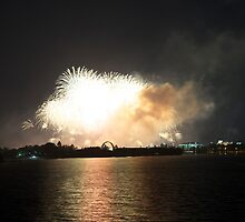 The Canberra Centenary Fireworks 18 by peterhau