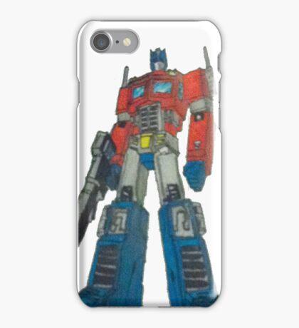 optimus iPhone Case/Skin