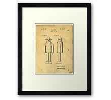 Mechanical Man Patent Framed Print