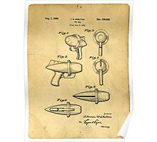 Toy Ray Gun Patent Poster