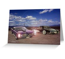 Muscle In The Desert  Greeting Card
