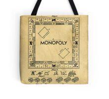 Original Patent for Monopoly Board Game 1936 Tote Bag