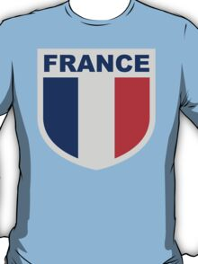 France National Flag Blazon T-Shirt