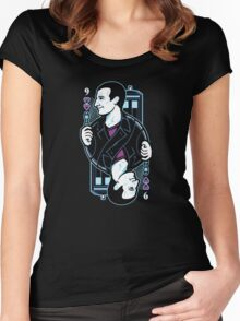 9th of Hearts Women's Fitted Scoop T-Shirt