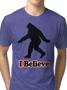 Sasquatch Big Foot T-Shirt Tri-blend T-Shirt